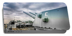 Uss Alabama Portable Battery Charger by Chris Smith