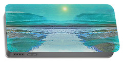 - 938 - Abstract Seascape - 2017  Portable Battery Charger