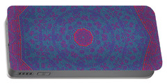Portable Battery Charger featuring the digital art 9isfine by Robert Thalmeier