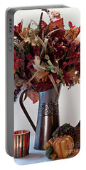A Autumn Day Portable Battery Charger by Sherry Hallemeier