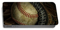 A Baseball Still Life Portable Battery Charger