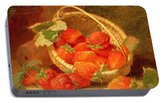 Strawberry Portable Battery Chargers