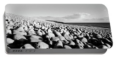 A Beach Of Stones Portable Battery Charger