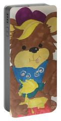 A Bear Loves Honey Portable Battery Charger