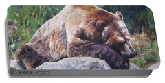 A Bear Of A Prayer Portable Battery Charger