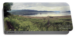 Portable Battery Charger featuring the photograph A Beautiful Cloudy Day by Victor K