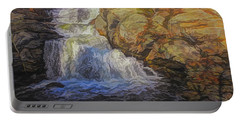 A Beautiful Connecticut Waterfall. Portable Battery Charger