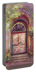 Portable Battery Charger featuring the digital art A Beautiful Mystery by Lois Bryan