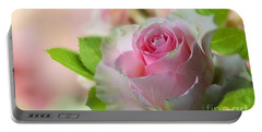 A Beautiful Rose Portable Battery Charger