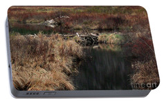 A Beaver's Work Portable Battery Charger by Skip Willits