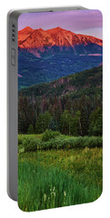 Portable Battery Charger featuring the photograph A Beckwith Sunrise by John De Bord