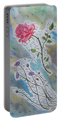A Bit Of Whimsy Portable Battery Charger by Carol Crisafi