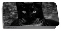 A Black Cat's Life -florida Portable Battery Charger