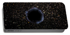 A Black Hole In A Globular Cluster Portable Battery Charger by Stocktrek Images
