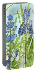 A Blue Garden Portable Battery Charger