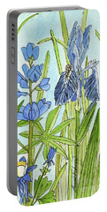 A Blue Garden Portable Battery Charger
