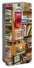A Bookstore For All Tastes Portable Battery Charger by Greg Sigrist