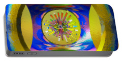A Breezy Kaleidoscope Portable Battery Charger
