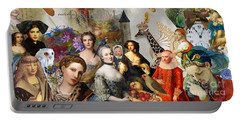 Portable Battery Charger featuring the digital art A Brief History Of Women And Dreams by Nola Lee Kelsey