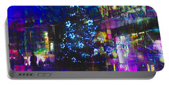 Portable Battery Charger featuring the photograph A Bright And Colourful Christmas by LemonArt Photography