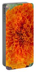 A Burst Of Orange Portable Battery Charger