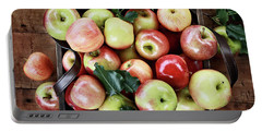 A Bushel Of Apples  Portable Battery Charger by Stephanie Frey