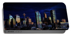 Portable Battery Charger featuring the photograph A Calgary Sunrise by Brad Allen Fine Art