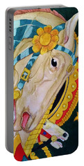 A Carousel Horse Portable Battery Charger by Rand Swift