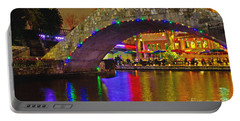 A Casa Rio Christmas On The Riverwalk Portable Battery Charger