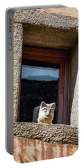 A Cat On Hot Bricks Portable Battery Charger