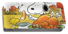 A Charlie Brown Thanksgiving Portable Battery Charger