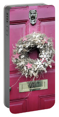A Christmas Wreath Portable Battery Charger