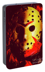 A Cinematic Nightmare Portable Battery Charger by Jorgo Photography - Wall Art Gallery