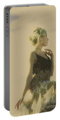 A Classical Beauty Portrait Portable Battery Charger