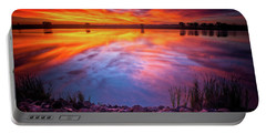 A Colorado Birthday Sunrise Portable Battery Charger