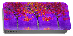 A Colorful Autumn Rainy Day Portable Battery Charger