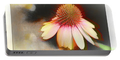 A Colorful Coneflower With Bokeh Portable Battery Charger