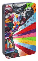 A Colorful Romance Portable Battery Charger by Az Jackson