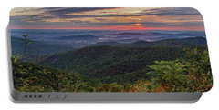 Portable Battery Charger featuring the photograph A Colorful Sunrise by Lori Coleman
