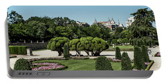Portable Battery Charger featuring the photograph Colorfull El Retiro Park by Arik Baltinester