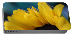 A Cool Sunflower Portable Battery Charger