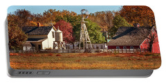 Portable Battery Charger featuring the photograph A Country Autumn by Susan Rissi Tregoning
