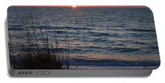 A Country Sunset Portable Battery Charger