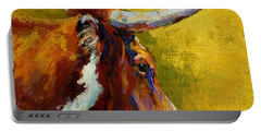 A Couple Of Pointers - Longhorn Steer Portable Battery Charger