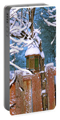 Portable Battery Charger featuring the photograph A Crisp Winter's Day by Mario MJ Perron
