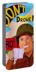A Cup Of Joe Portable Battery Charger by Rand Swift