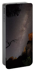 A Dark Night In Zion Canyon Portable Battery Charger