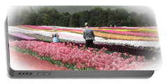 A Day Amongst The Tulips Portable Battery Charger