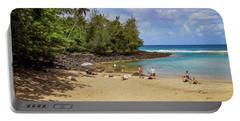 A Day At Ke'e Beach Portable Battery Charger