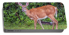 A Deer Young Lady Portable Battery Charger